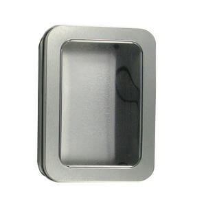 Metal Full View Window Tin