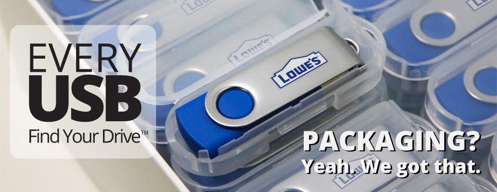 Custom Flash Drive Packaging